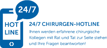24/7 Chirurgen-Hotline